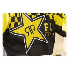 Fly Racing Dirt Kinetic Mesh Rockstar Jersey en internet