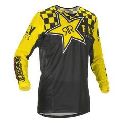 Fly Racing Dirt Kinetic Mesh Rockstar Jersey