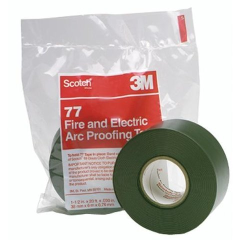 Scotch® Fire-Retardant Electric Arc Proofing Tape 77 Series