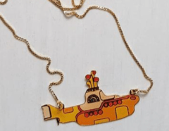 Colar Beatles Yellow Submarine