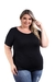 Kit 5 Baby Look Camiseta Feminina Basica Plus Size G1 Ao G3 na internet