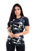 Kit 5 T-shirts Long Line Floral Moda Feminina na internet