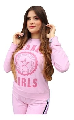 Blusa Moletom Logo Foil Planet Girls
