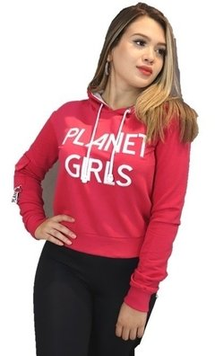 Moletom Bolso Planet Girls