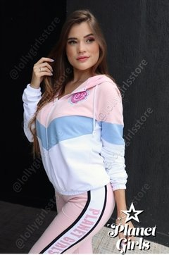Blusa Moletom 3 Cores Planet Girls - Lolly Girls Store