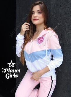 Blusa Moletom 3 Cores Planet Girls na internet