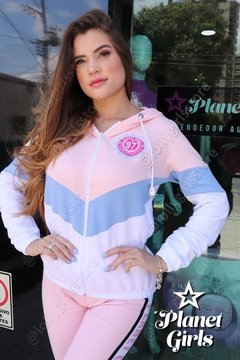 Blusa Moletom 3 Cores Planet Girls