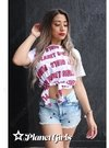 Cropped Laço Multi Letreiro Planet Girls