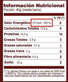 Barra Proteica Natural - Sabor Cacao Puro - Ki Bar en internet