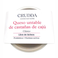 Queso untable de cajú x 150grs by Crudda