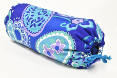 Bolster Rollo Cervical + Funda. Cáscara Sarraceno