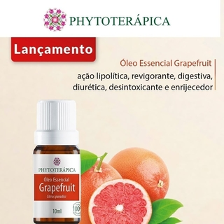 Óleo Essencial Grapefruit 10ml - Leveza e Alegria