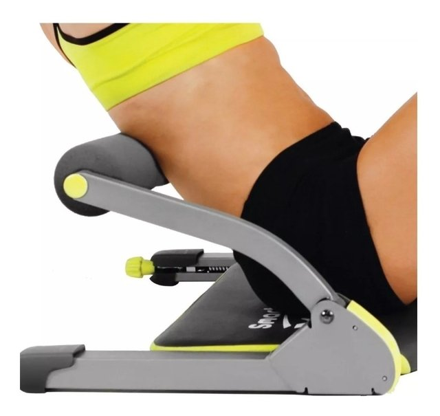Aparelho abdominal Fitness Acte - Ortoshop Saúde