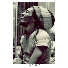 Camiseta Longline Bob Marley Five - Stoned Shop
