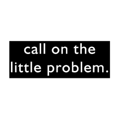 Camiseta Feminina Call on the little problem - comprar online