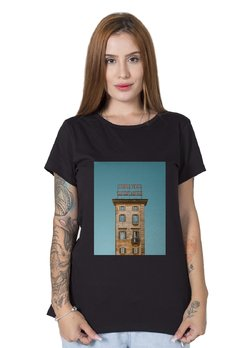 Camiseta Feminina Wish You Were Here Preta