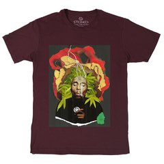 Camiseta Masculina Bob Marley Collage na internet