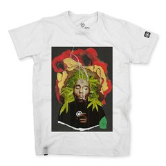 Camiseta Masculina Bob Marley Collage