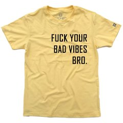 Imagem do Camiseta Masculina Fuck Your Bad Vibes