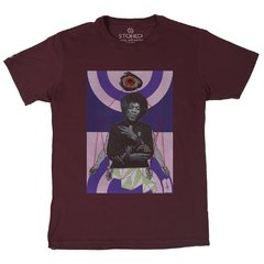 Camiseta Masculina Jimi Hendrix Collage na internet