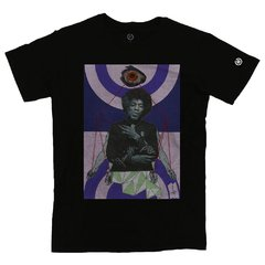 Camiseta Masculina Jimi Hendrix Collage - Stoned