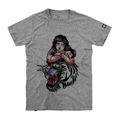 Camiseta Masculina Pin-Up Tiger - loja online