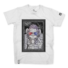 Camiseta Masculina Punk Monkey