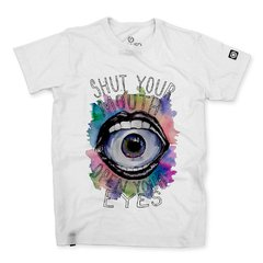 Camiseta Masculina Shut Up Your Mouth