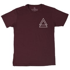Camiseta Masculina Triple Triangle - Stoned Shop