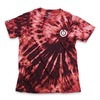 Camiseta Tie Dye Basic Bordô