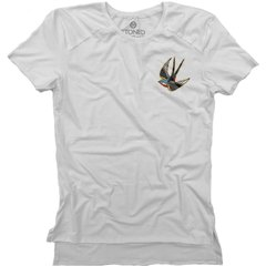 Camiseta Longline Gold Free Bird