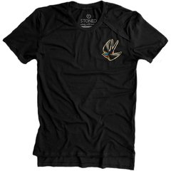 Camiseta Longline Gold Free Bird - Stoned Shop