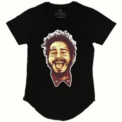 Camiseta Longline Post Malone - Stoned Shop