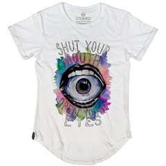 Camiseta Longline Shut Up Your Mouth - comprar online