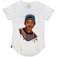 Camiseta Longline Will Smith Draw