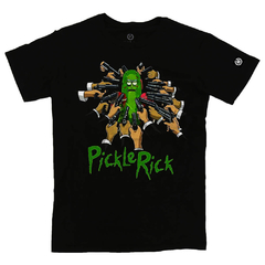 Camiseta Masculina Pickle Rick