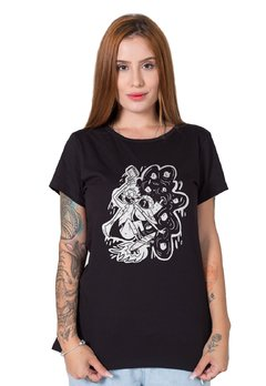 Camiseta Feminina Rick and Morty No Bad Vibes