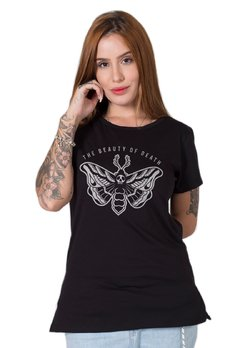 Camiseta Feminina Beauty of Death