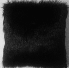 Almofada Fluffy Pillow - Black - comprar online