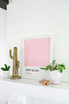 Pôster/Quadro - Baby Blush (Pantone Inspired) - comprar online