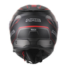 CASCO REBATIBLE MAC ROCK MAGMA ROJO NEGRO 01