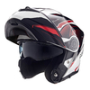 CASCO REBATIBLE MAC ROCK MAGMA BLANCO ROJO NEGRO 01