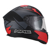 Casco Integral Speed 2.0 Raven Mate Negro Rojo en internet