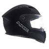 Casco Integral Speed Solid Negro Mate