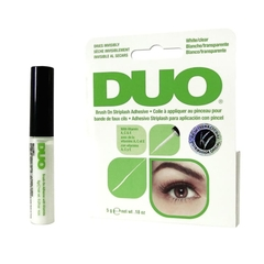 Cola Para Cílios 5g DUO Brush On Striplash Adhesive Transparente