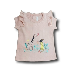 5544P Remera ANIMALITOS panther 0 1 3 y 6m