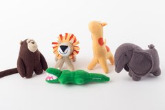 Set x 5 Animales - Selva