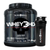 Kit Whey 3HD 1,8Kg + Coqueteleira Black Skull