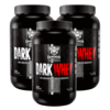 Kit 3 Darkwhey Darkness (3,6Kg) Integralmedica