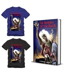 Combo Camiseta + Livro - The Number of the Beast